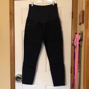 Gap maternity skinny jeans, 16